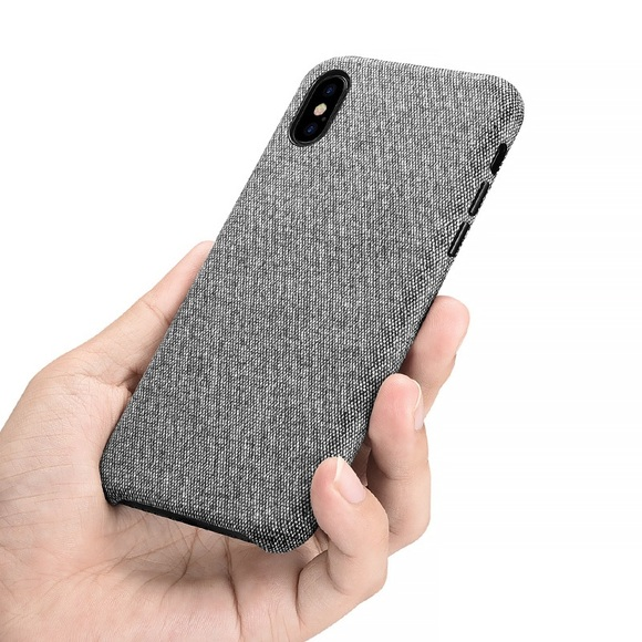 fabric iphone xs case